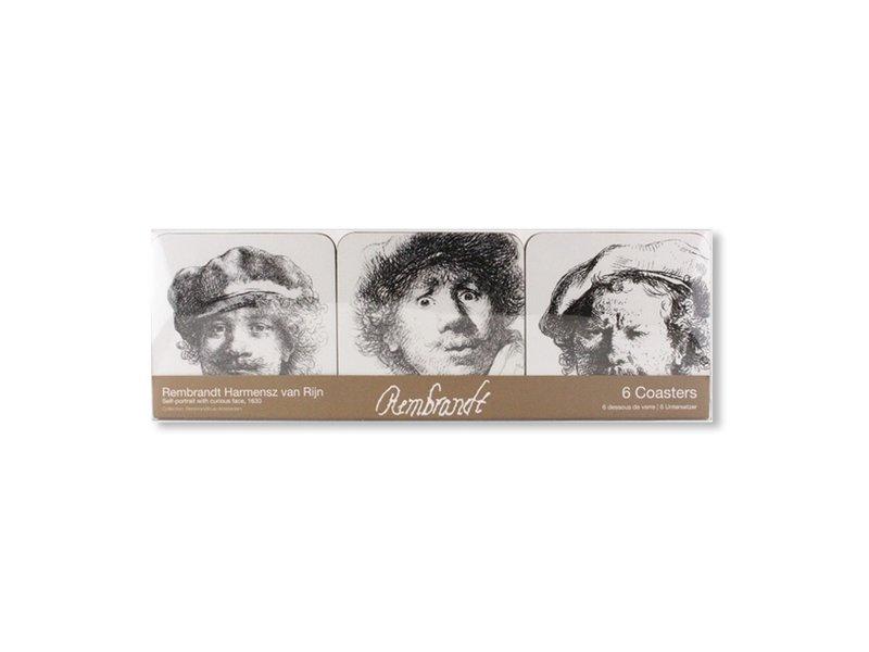 Dessous de verre, Autoportrait, Rembrandt