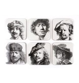 Onderzetters, Zelfportretten, Rembrandt