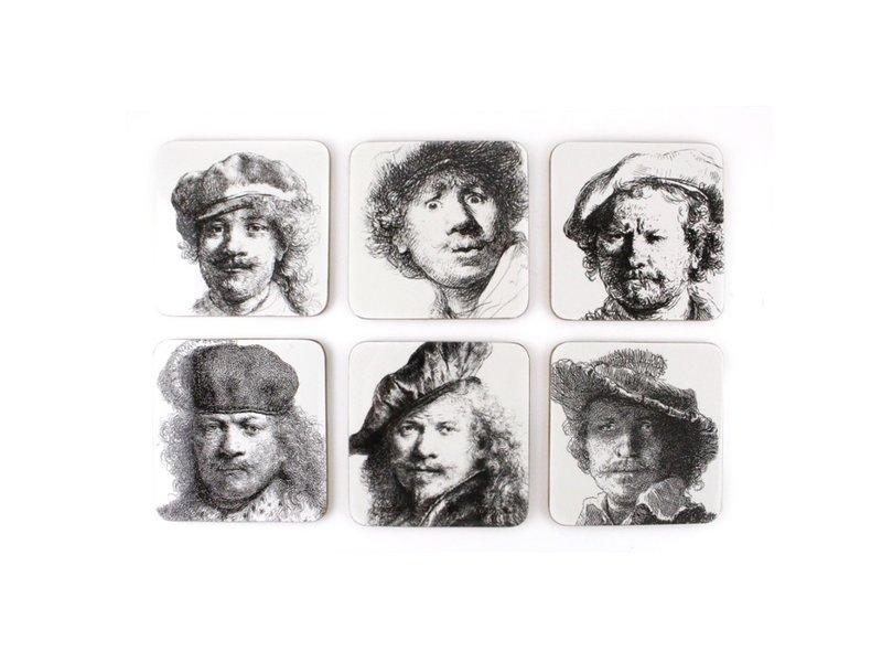 Untersetzer, Selbstporträts, Rembrandt