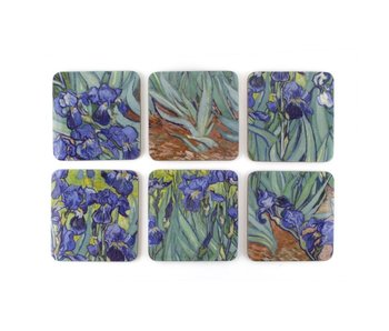 Coasters , Irises, Van Gogh