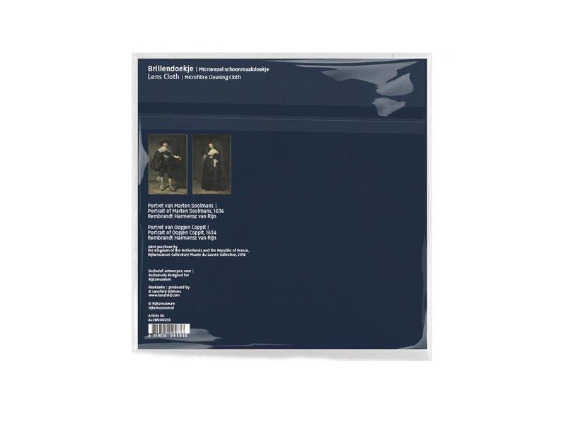 Brillendoekje, 15 x 15 cm, Marten en Oopjen, Rembrandt