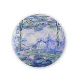 Taschenspiegel B, Ø 80 mm, Monet, Seerosen