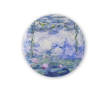 Espejo de bolsillo W, Ø 80 mm, Monet, Nenúfares