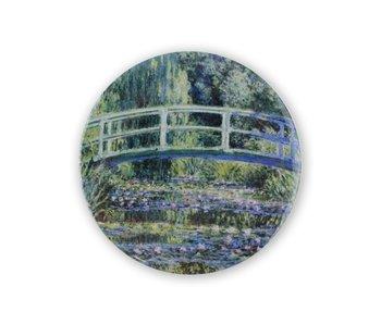 Espejo de bolsillo, Ø 80 mm, Monet, Puente