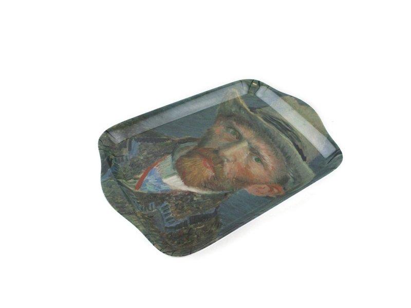 Bandeja de servicio mini, Van Gogh, Autorretrato