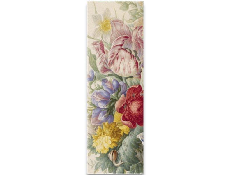 Foulard, Nature morte aux fleurs, Henstenburgh