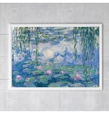 Posters W, Monet, Water Lilies