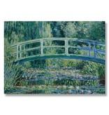Plakat, 50x70, Monet, japanische Brücke