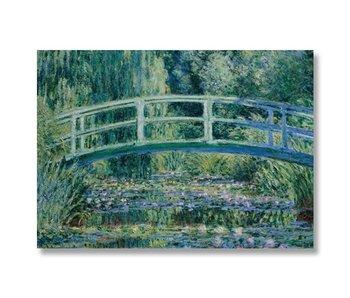 Cartel, 50x70, Monet, puente japonés