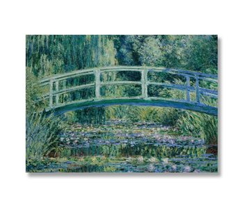 Poster, 50x70, Monet, Japanese bridge
