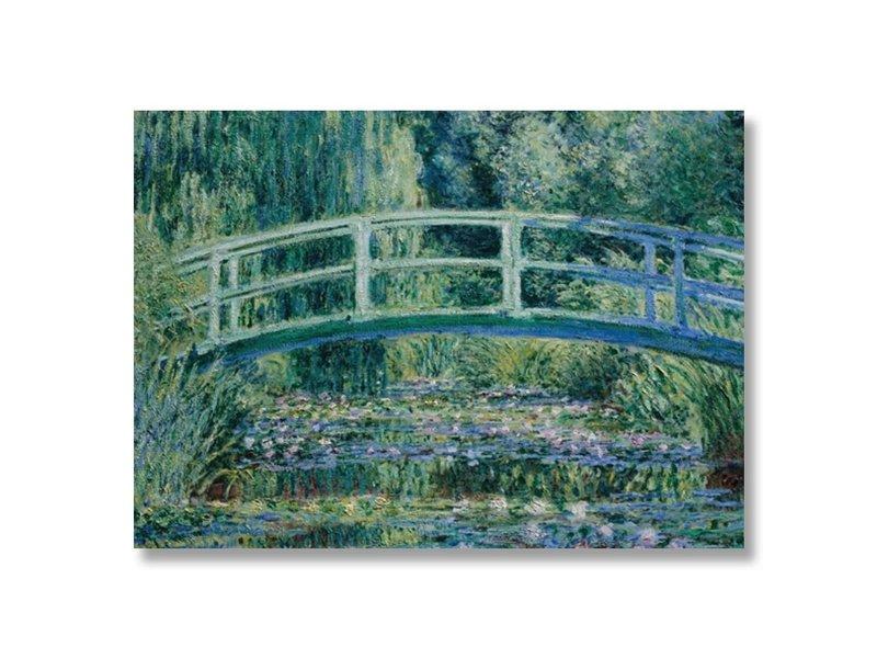 Affiche, 50x70, Monet, pont japonais