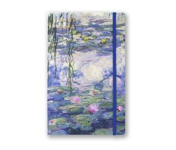 Softcover Notebook A5, Nymphéas, Monet