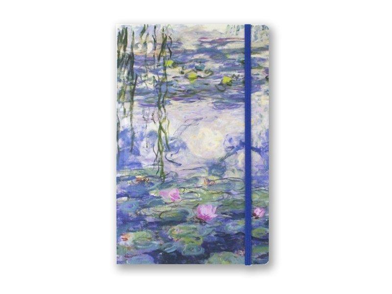 Softcover-Notizbuch, A5, Seerosen, Monet