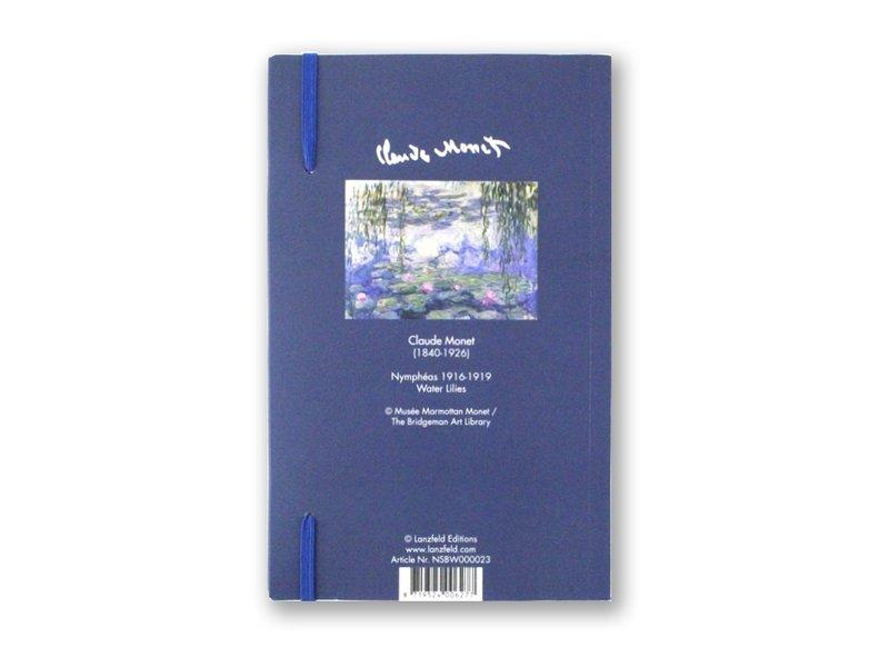 Cuaderno de tapa blanda, A5, nenúfares, Monet