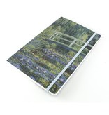 Softcover notitieboekje,  A5, Bruggetje, Monet