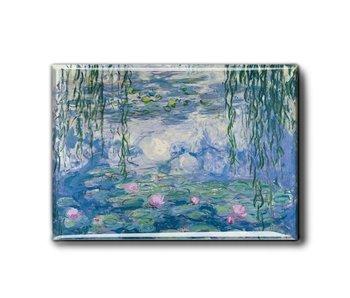 Kühlschrankmagnet XL, Seerosen, Monet