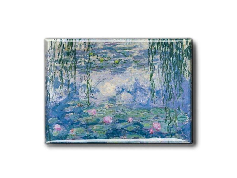 Imán de nevera XL, nenúfares, Monet