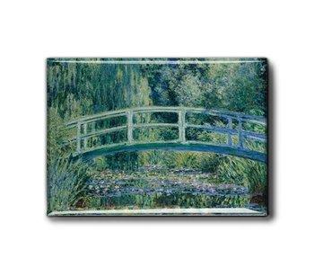 Kühlschrankmagnet XL, Brücke, Monet