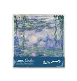 Paño de gafas, 15 x 15 cm, nenúfares, Monet