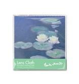 Linsentuch, 15 x 15 cm, Seerosen im Abendlicht, Monet