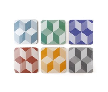 Coasters , Optical Tile pattern