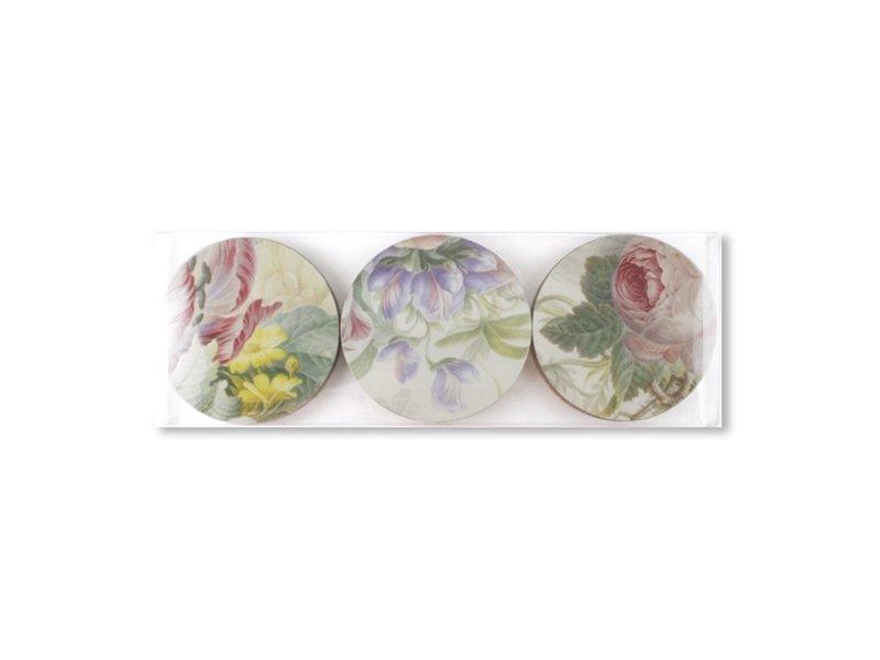 Dessous de verre, Flower Still Life, Henstenburgh, Rijksmuseum