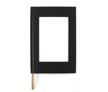 Sketchbook with insert for postcard, vertical