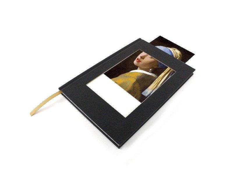 PCarnet de croquis avec insert pour carte postale, vertical
