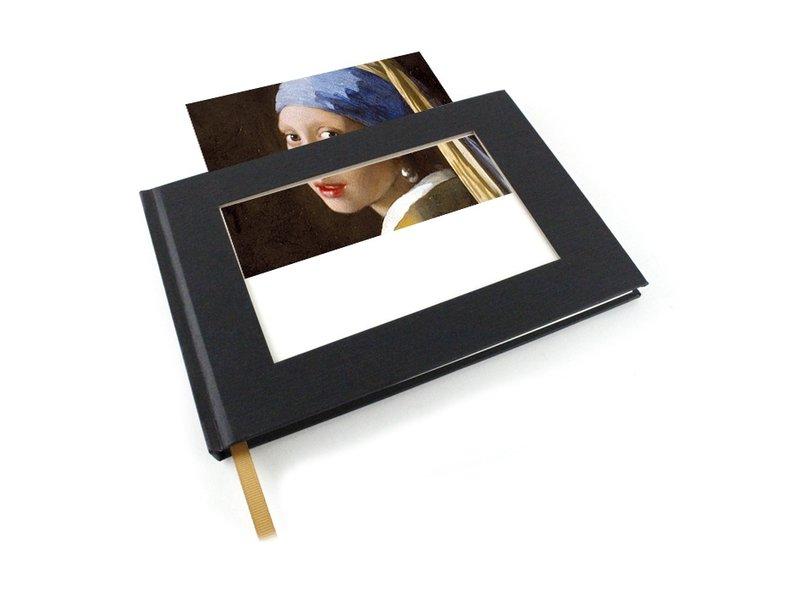 Schetsboek met insert postkaart , horizontaal