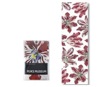 Écharpe, tulipes, Rijksmuseum