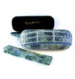 Brillenkoker met lensdoekje , Japanse brug, Monet
