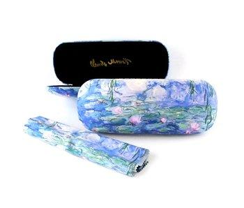 Brillenkoker met lensdoekje,  Waterlelies, Monet