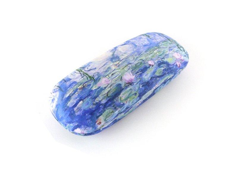 Étui à lunettes avec tissu pour lentilles, Nénuphars, Monet