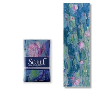 Scarf, Waterlilies, Monet