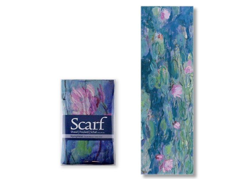 Sjaal, Waterlelies ,Monet