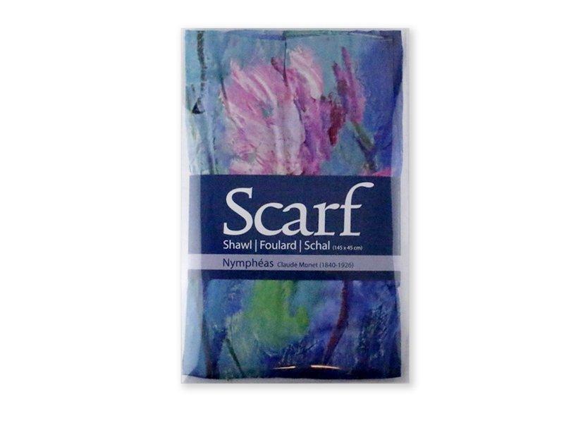 Scarf, Waterlilies, Monet