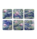 Dessous de verre, nénuphars, Monet
