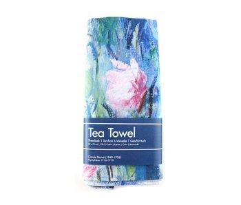 Tea Towel, Monet, Water Lilies