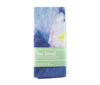 Tea Towel, Monet, Water Lilies evening