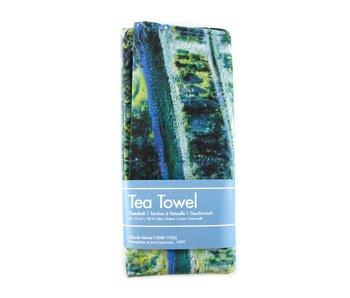 Tea towel, Japanese bridge, Monet