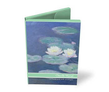 Kartenmappe, Claude Monet, 2x5 Doppelkarten
