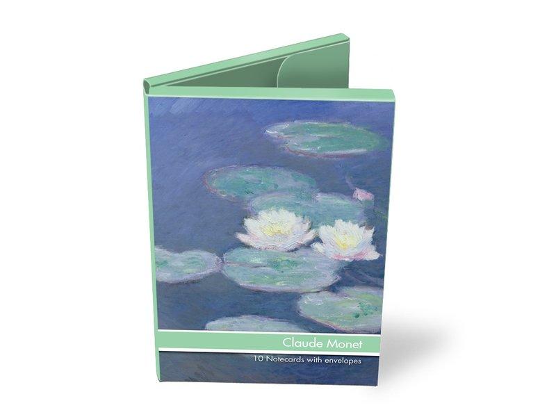 Kaartenmapje, Claude Monet, 2x5 dubbele kaarten