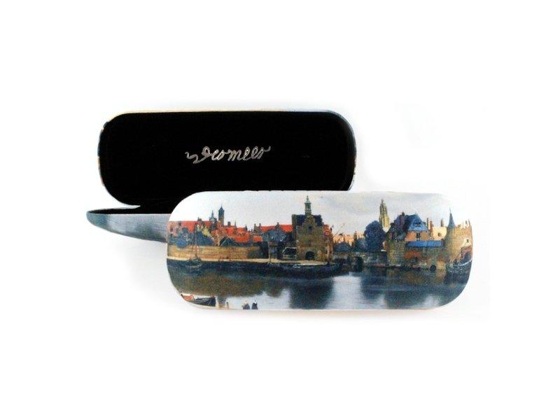 Estuche para gafas, Vista de Delft, Vermeer