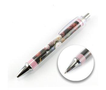 Photo pen, De Heem, Vaas met bloemen