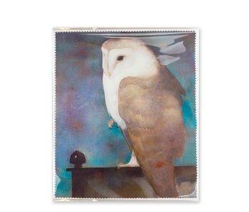 Lens cloth, 15x18 cm, Mankes, Owl