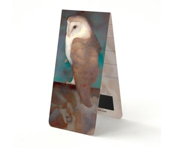 Magnetic bookmark , Mankes, Owl