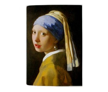 Exercise book, A5, Vermeer, Girl with the Pearl Earring