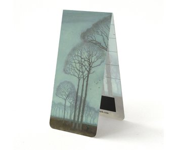 Magnetic Bookmark, Row of Trees, Mankes