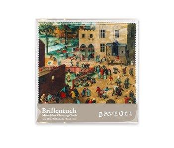 Brillenputztuch , 15 x 15 cm, Kinderspiele, Bruegel