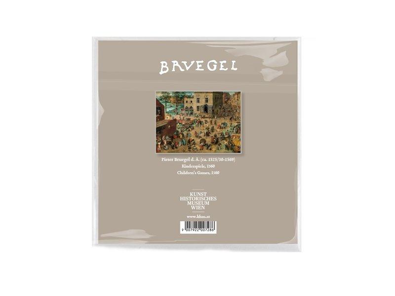 Linsentuch, 15 x 15 cm, Kinderspiele, Bruegel